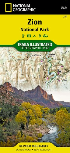 Zion National Park (National Geographic Trails Illustrated Map) (Zion Outdoor)