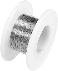 uxcell 0.2mm 32AWG Heating Resistor Wire Wrapping Nichrome Resistance Wires for Heating Elements 115ft