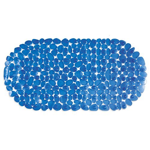 Tatkraft Mare 14220, Tappeto in Vinile Anti-Scivolo per Vasca da Bagno e Box Doccia, blu (Blue), 35X68cm 4742943014220