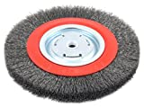 Forney 72762 Wire Bench Wheel Brush, Wide Face