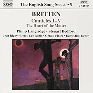 The English Song Series 9: Britten