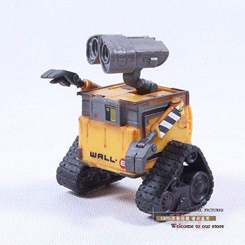 [Wall-E Robot Wall E PVC Action Figure Collection Model Toy Doll 6cm OLD STYLE DSFG014] (Arrest Shoes Adult)
