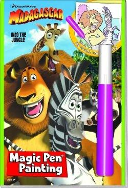Dreamworks Madgascar Into The Jungle Magic Pen and Invisible -