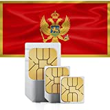 1GB of Mobile Internet data sim card to use in Montenegro for 30 Days Rechargeable