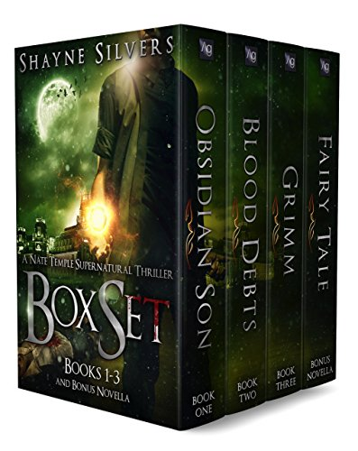The Nate Temple Supernatural Thriller Series: Books 1-3 (The Nate Temple Supernatural Thriller Series Boxsets) (Boxes Temple)