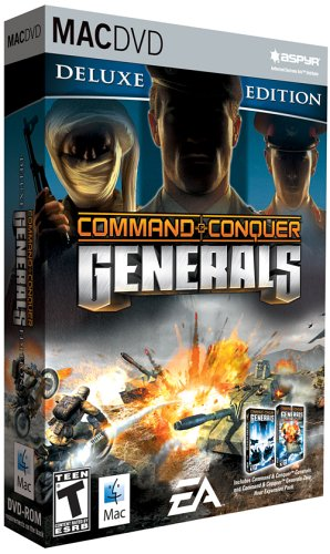 Command and Conquer Generals Deluxe - Mac (Best Military Strategy Games Mac)