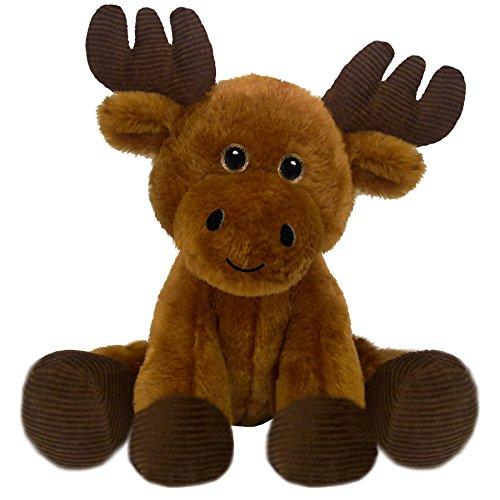 (First & Main 7 Brown Floppy Friends Moose Basic Plush Toys)