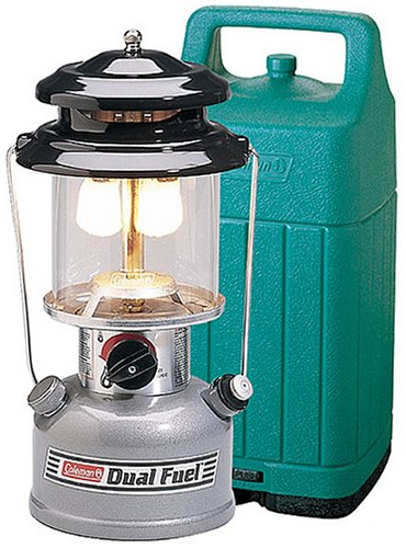 Coleman Two-Mantle Dual Fuel Lantern with Hard Case, Outdoor Stuffs