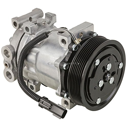 AC Compressor & A/C Clutch For Dodge Ram Dakota Durango - BuyAutoParts 60-01316NA NEW ()
