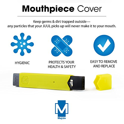 Majide Ultra Thin JUUL Vapor Case with 3-in-1 Protection Technology and  Hybrid Drop Protection - Never Lose Your JUUL Again! - Yellow