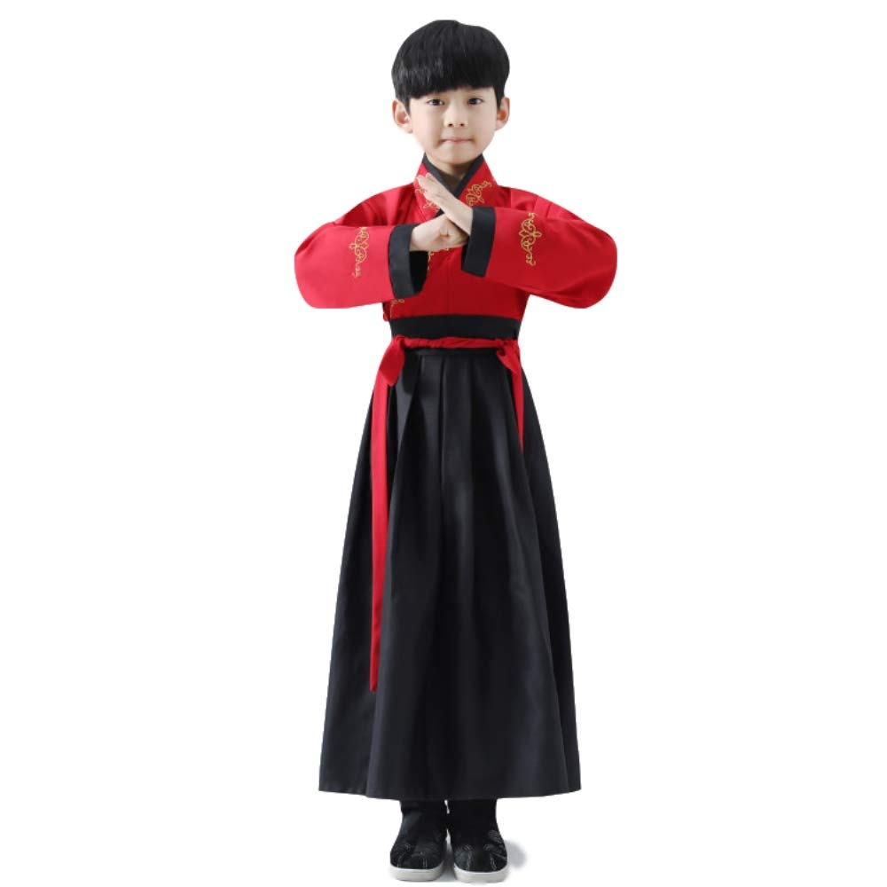 Amazon.com: Ancient chino traje tradicional Hanfu para niños ...
