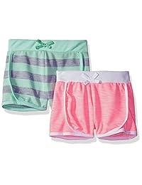 Limited Too Paquete de 2 Pantalones Cortos para niñas