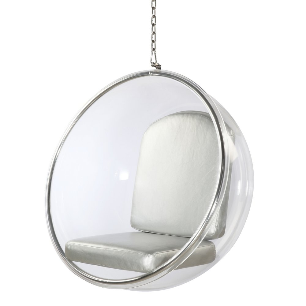 Amazon.com: Aron Living WM1060 Eero Aarnio Bubble Hanging Chair, Large:  Kitchen U0026 Dining