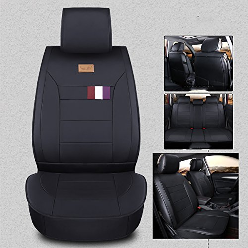 INCH EMPIRE Adjuatable Easy To Clean PU Leather Car Seat