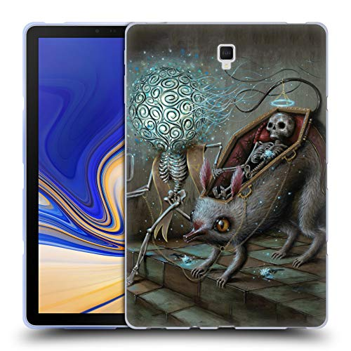 Official Jason Limon No Mans Land Skull Soft Gel Case for Samsung Galaxy Tab S4 10.5 (2018)