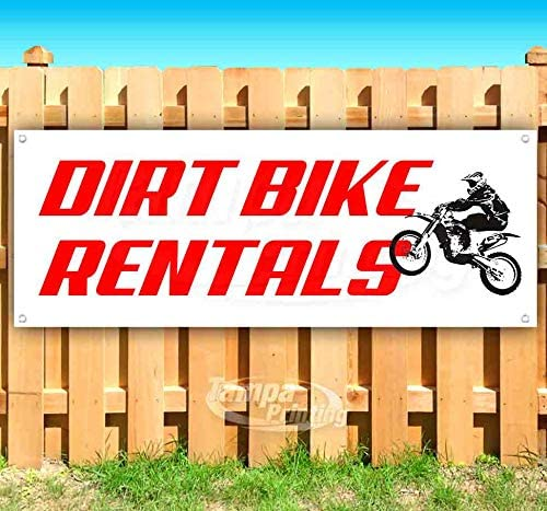 Many Sizes Available Flag, Bicycle RENTALS 13 oz Heavy Duty Vinyl Banner Sign with Metal Grommets New Advertising Store