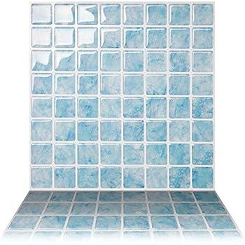 Vogue Premium Quality Square Blue Calacatta Porcelain