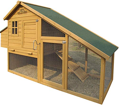 Pets Imperial Sandringham Extra Large Chicken Coop (223cm/7ft 3ins) Suitable for Up to 8 Birds...