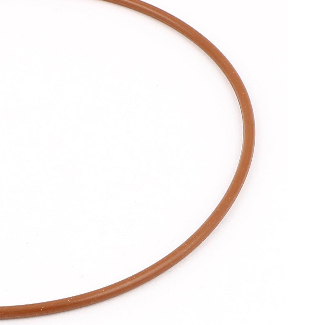 Gomma 155mmx149mmx3.5mm PARAOLIO O Rings Guarnizioni Rondelle del mattone rosso