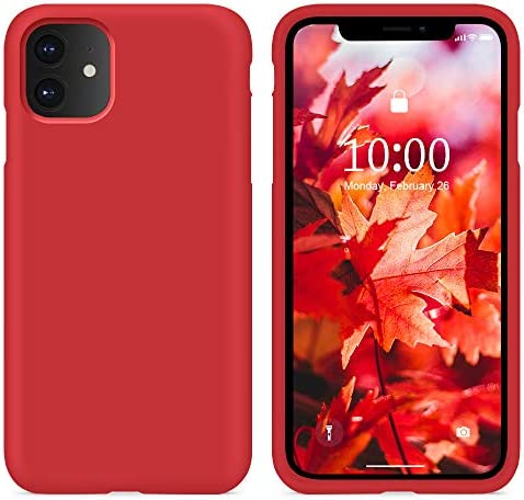 SURPHY Cover iPhone 11 Custodia iPhone 11 Silicone Liquido Cover