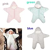 FEITONG Baby Sleeping Bag Star Shaped Winter Warm Thick Stroller Sleeping Sack