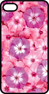 Purple & Pink Flower Arrangement Tinted Rubber Case for Apple iPhone 4 or iPhone 4s