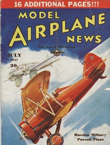 - Model Airplane News July 1937