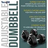 Yes4All Adjustable Dumbbells - 200 lb Dumbbell