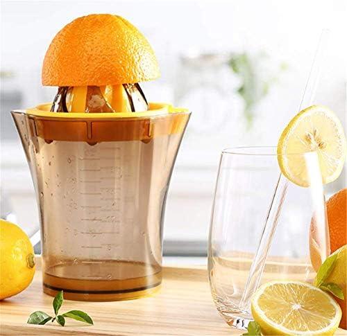 LLDKA Pequeño Manual del hogar portátil Taza exprimidor de Zumo de Naranja expulsor presionado Jugo de limón es la Fruta prensada