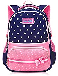 Kids Backpack for Girls, Tecing Cute Schoolbags Bookbag