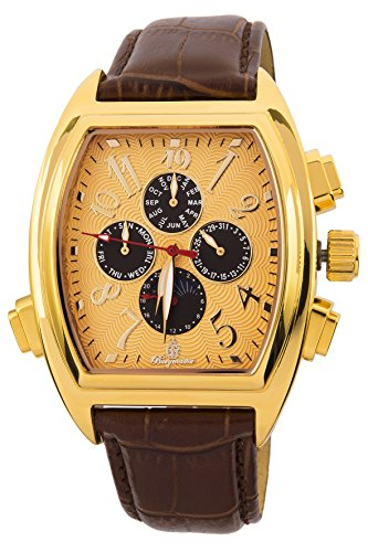 Burgmeister Men's BM131-275 Analog Display Automatic Self Wind Brown Watch