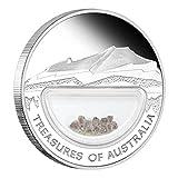 Treasures of Australia - Diamonds $1 1oz Silver Coin - Australia 2009
