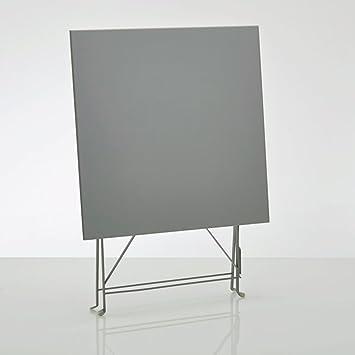 La Redoute Interieurs Table pliante carré, métal ozevan ...