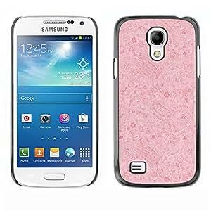 Caucho caso de Shell duro de la cubierta de accesorios de protección BY RAYDREAMMM - Samsung Galaxy S4 Mini i9190 MINI VERSION! - Wallpaper Retro Rustic