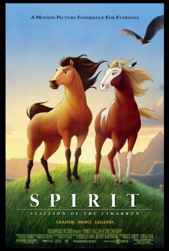 Spirit: Stallion of the Cimarron POSTER Movie (27 x 40 Inches - 69cm x 102cm) (2002) (The Real Spirit Stallion Of The Cimarron)