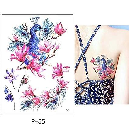 HXMAN 5 Un Poco Grande Brazo Temporal Tatuaje Pegatina Pegatina ...