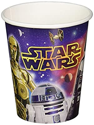 Star Wars 9oz Paper Cups [8 Per Pack]