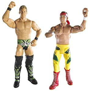 """WWE Ultimate Rivals Ricky """"The Dragon"""" Steamboat vs Chris Jericho 2-Pack Series # 5"""
