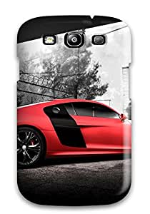New Fashionable CaseyKBrown OBUMLUX7500RnOFJ Cover Case Specially Made For Galaxy S3(audi R8 Gt 32)