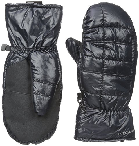 Down Mittens - Manzella Women's Kula Mitten, Black, Medium