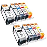 Sophia Global Compatible Ink Cartridge Replacement for Canon PGI-220 and CLI-221 (10 Pack)