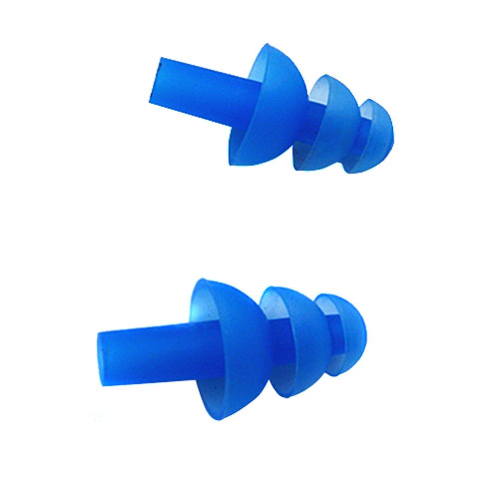 negro de tapones suaves y flexibles para los o/ídos para nadar o dormir 10 piezas Tapones para los o/ídos de silicona para nataci/ón/ /5/pares