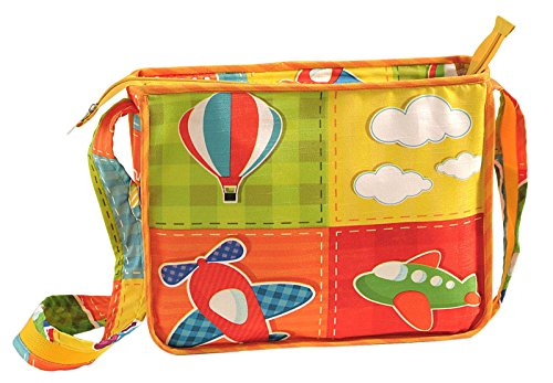Yuga Digitally Printed Kids Satchel Bag With Zipper? Waterproof Children Schoolbags Adjustable Shoulder Straps 10 X 12 X 3 Inches Multicolor