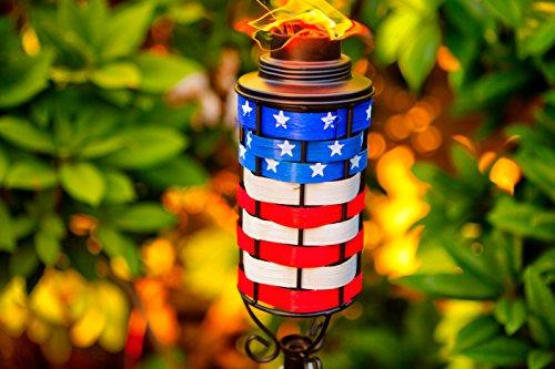 American Patio Patriotic Tiki Torch by American Patio