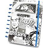 Caderno Médio Comic com 80 Folhas Caderno Inteligente