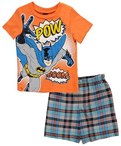 superman-little-boys-pow-boom-2-piece-outfit-orange-5