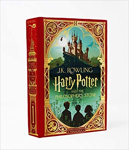Book's Cover of Harry Potter And The Philospher's Stone. Minalima (Minalima Edition) (Inglés) Tapa dura – 20 octubre 2020