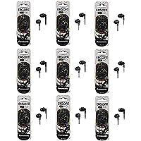 Panasonic ErgoFit In-Ear Earbud Headphones - 9 Pack (Black)