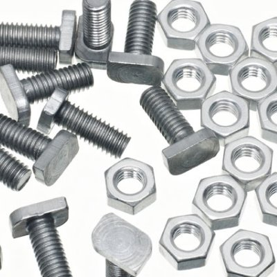 11mm Greenhouse Crop-Head Bolts & Nuts (15) Greenhouse Warehouse