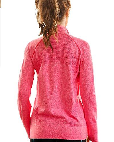 619e27ba675 Senchanting Plus Size Full Zip Workout Jacket with Thumb Holes Yoga  Sweatshirts at Amazon Women s Clothing store